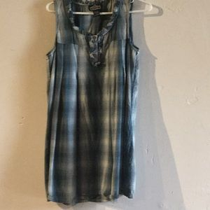 Flannel dress juniors